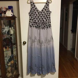 Size 14 Maxi Dress by Floreat